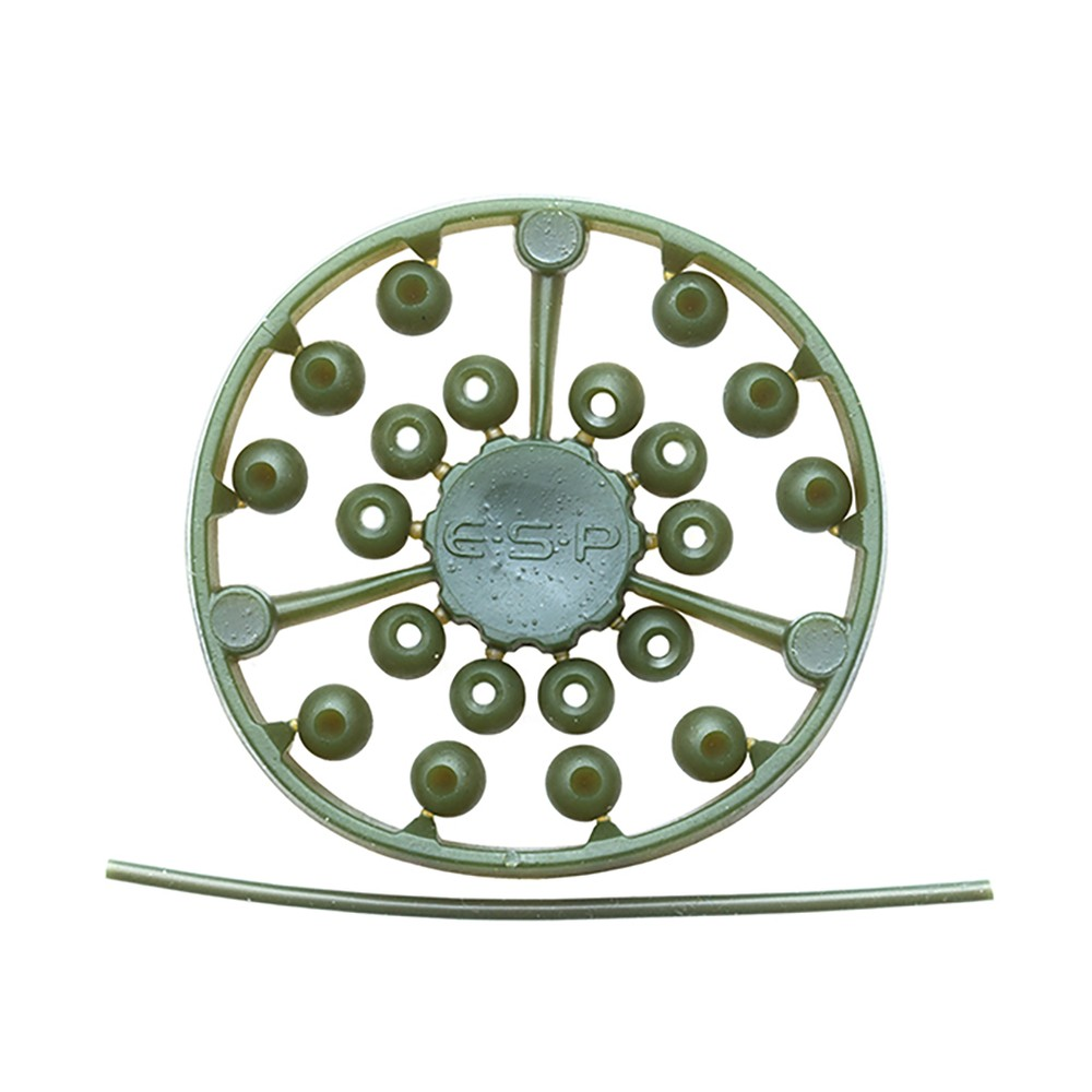 ESP Leadcore Stop Beads - Weedy Green Weedy Green