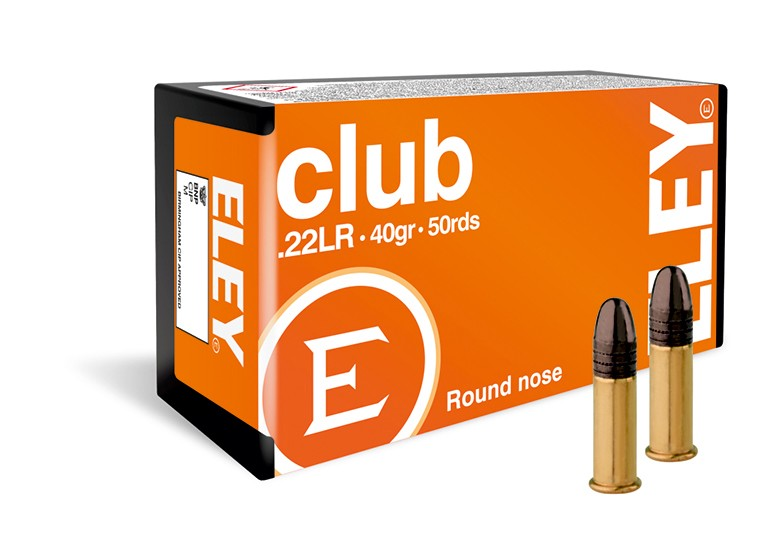 Eley .22LR Ammunition - 40gr - Club Unknown