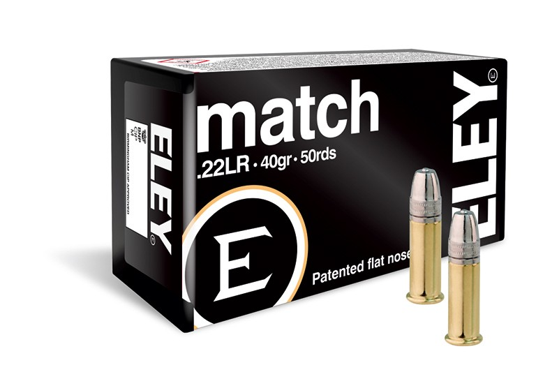 Eley .22LR Ammunition - 40gr - Match