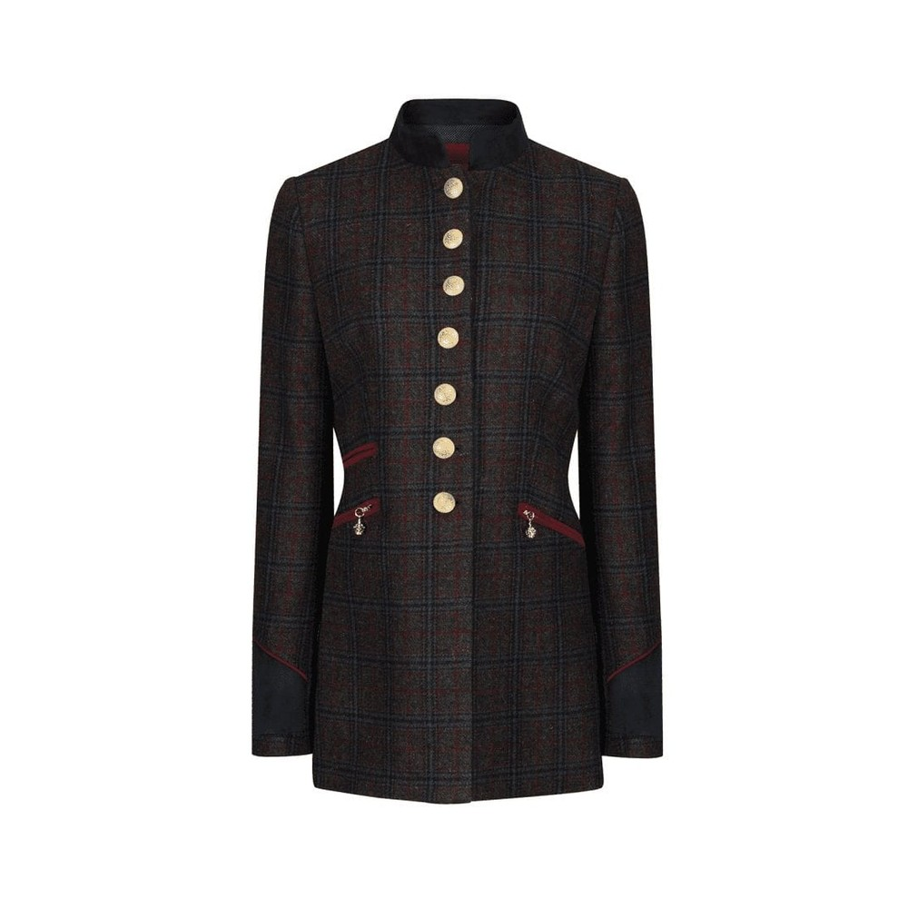 Welligogs Knightsbridge Jacket - Wine Wine