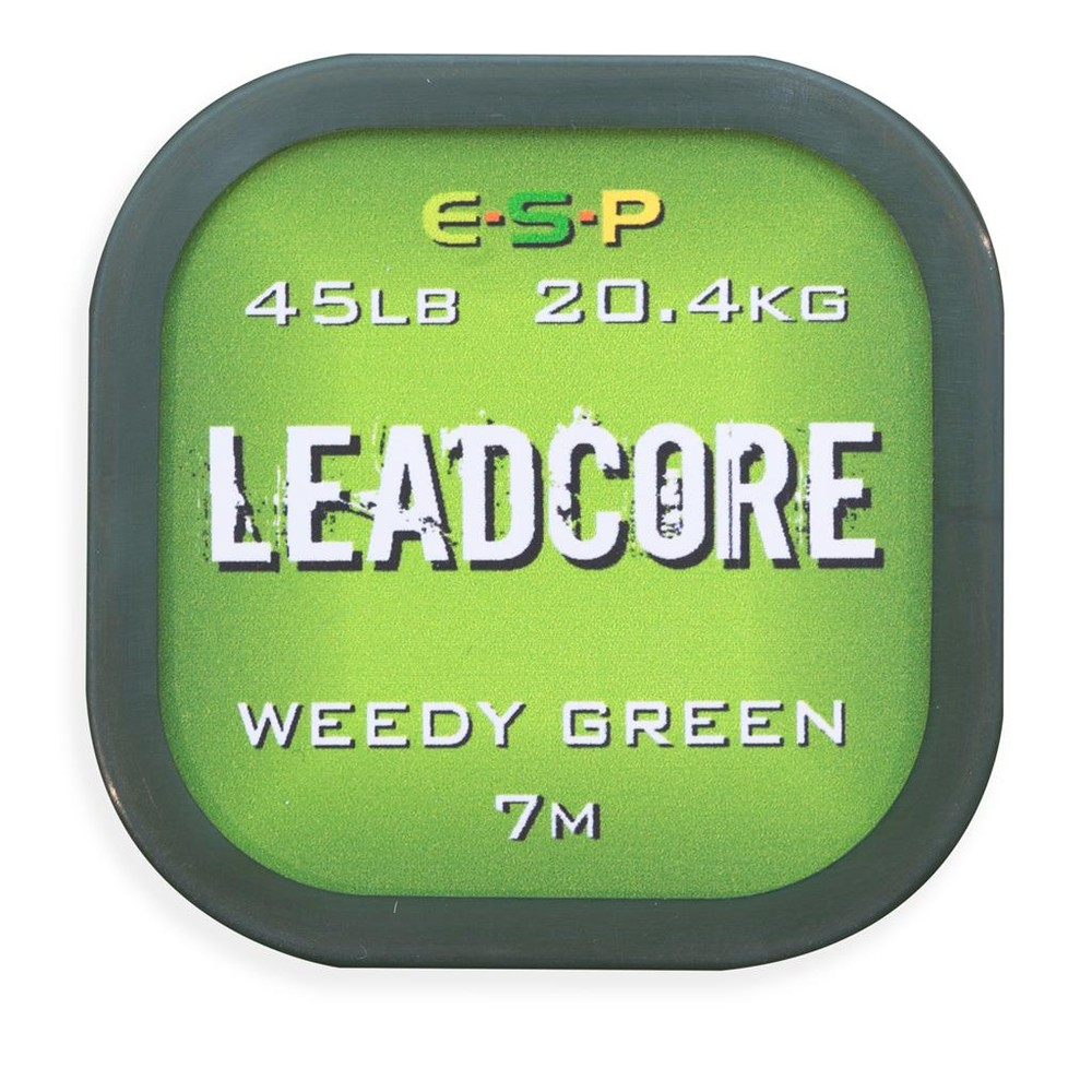 ESP Leadcore Leader 7m - Weedy Green