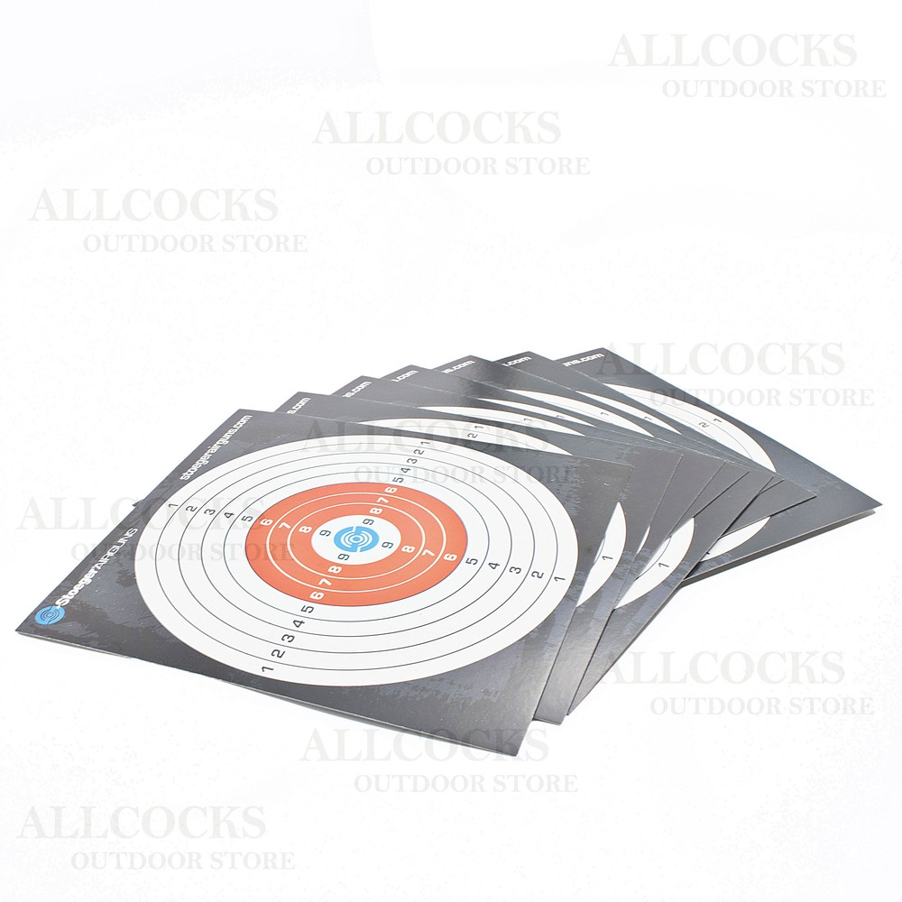Stoeger Paper Targets 100 Pack - 14x14cm