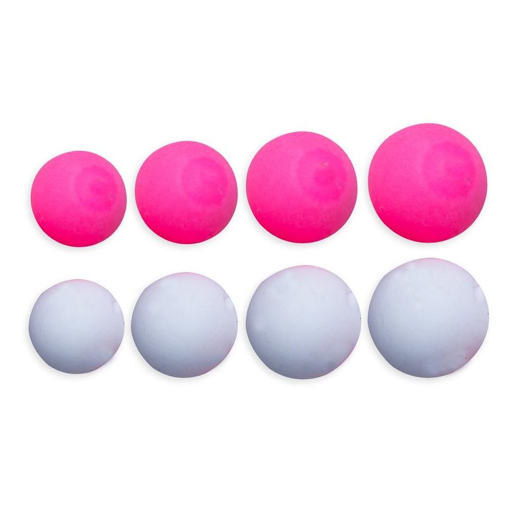 ESP Buoyant Boilies - Pink White Pink