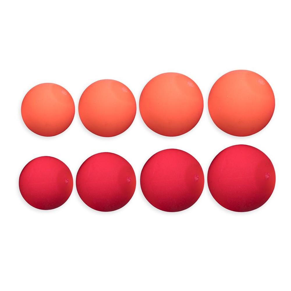 ESP Buoyant Boilies - Red Orange Red/Orange