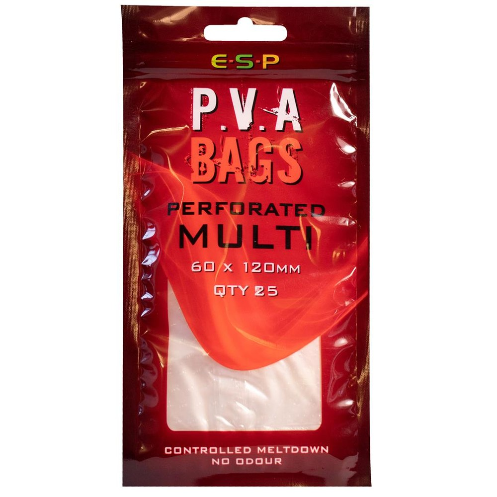 ESP PVA Bag MK2 - Perforated Transparent
