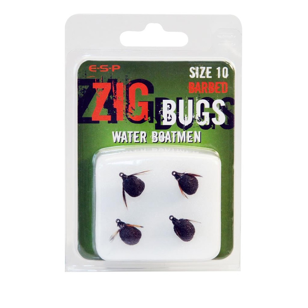 ESP Zig Bugs - Barbless Black