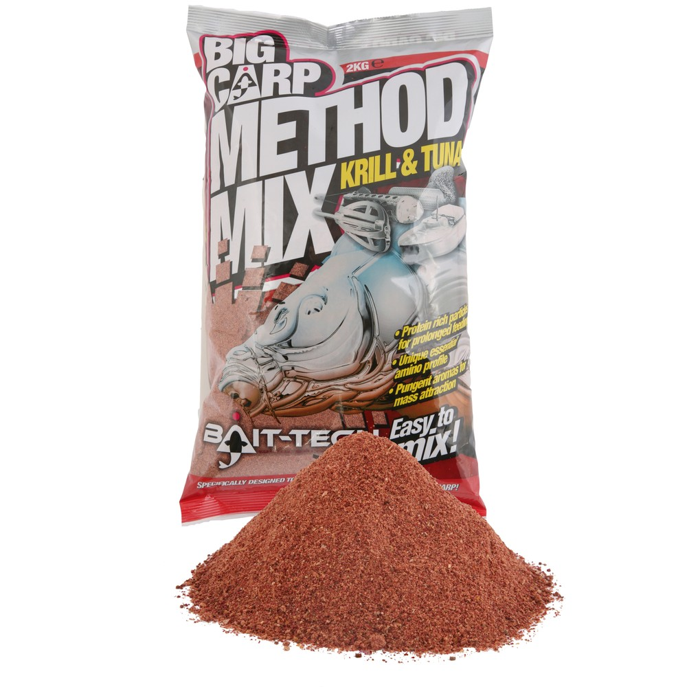 Bait-Tech Big Carp Method Mix - Krill & Tuna