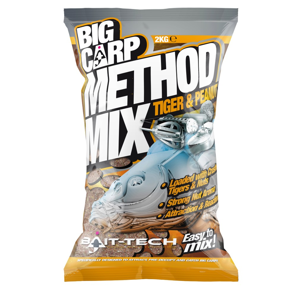 Bait-Tech Big Carp Method Mix - Tiger & Peanut