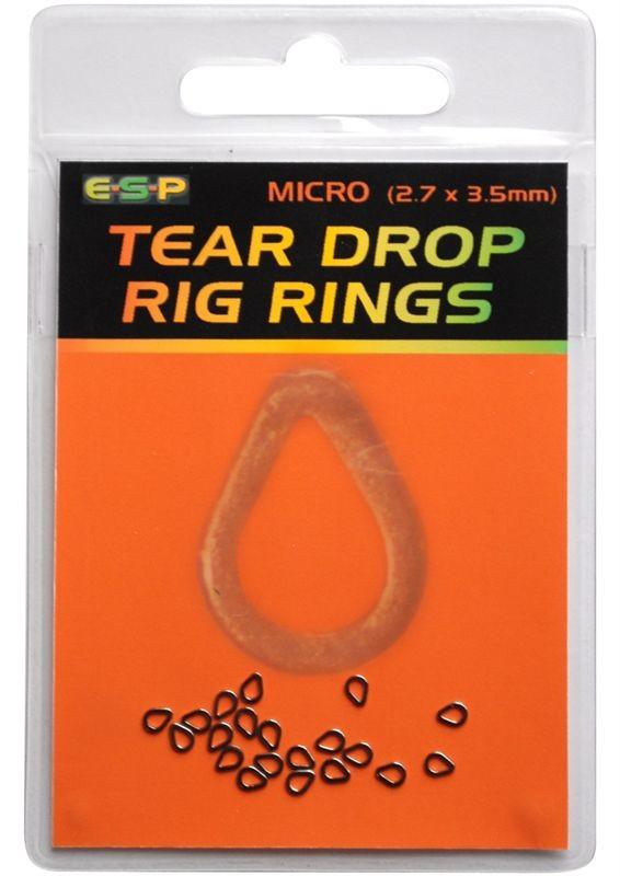 ESP Teardrop Rig Rings Black