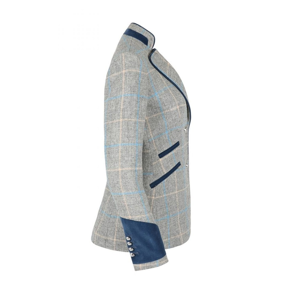Welligogs Ascot Wool Fitted Jacket - Grey Grey