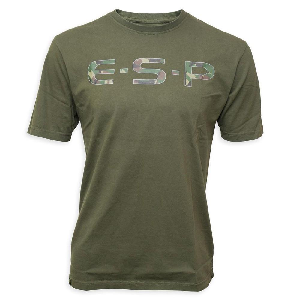ESP Camo Logo T-Shirt - Olive