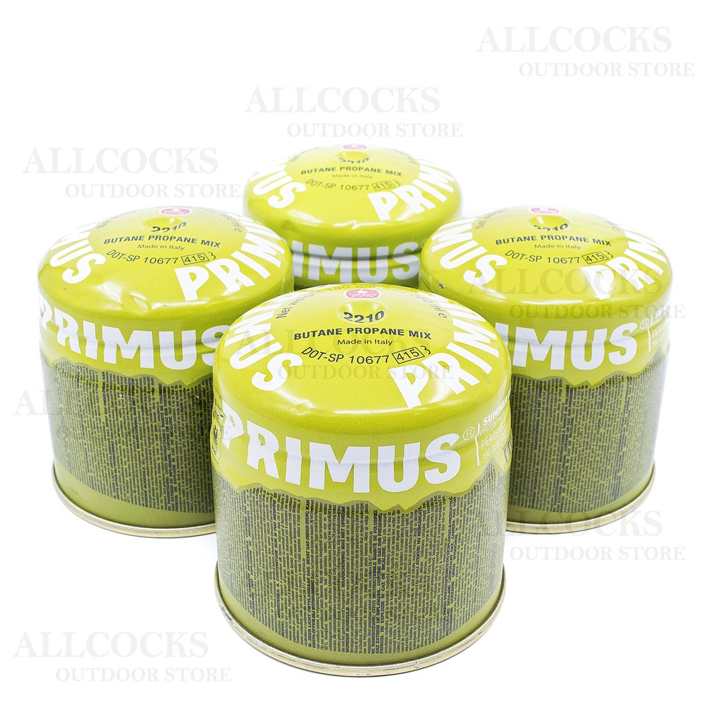 Primus Summer Gas - 190g Pierceable - Pack of 4 Green