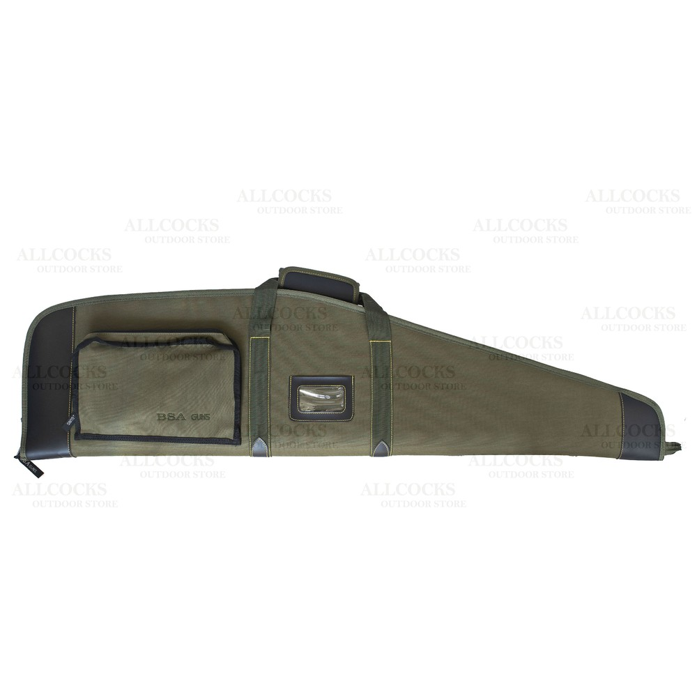 BSA Polytwill Green Gun Bag - 44