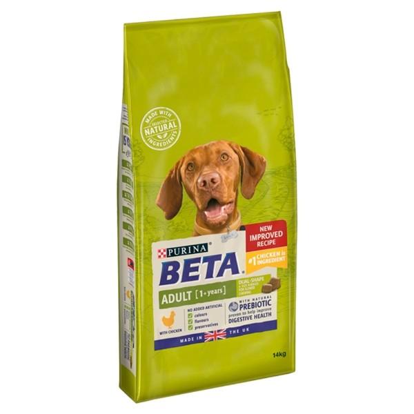 Beta Chicken Adult 14kg Dog Food