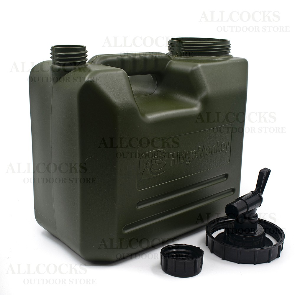 RidgeMonkey Water Carrier - 10 litre Green