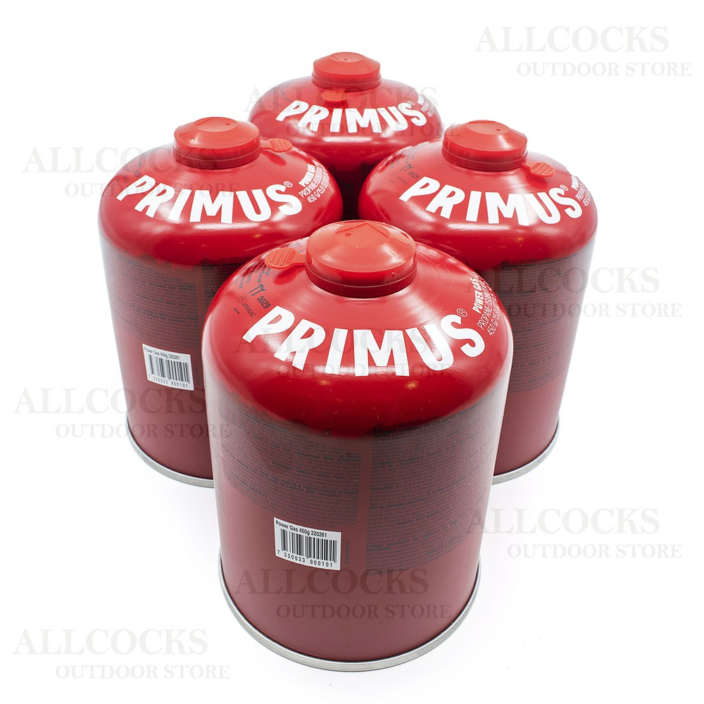 Primus Power Gas - 450g - Pack of 4 Red