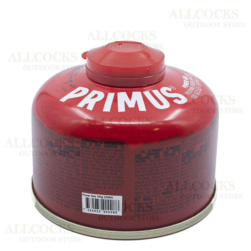 Primus Power Gas - 100g - Pack of 4 Red