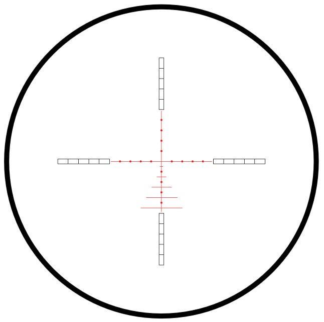 Hawke Airmax 30 SF Touch Riflescope - 3-12x32 - AMX IR Black