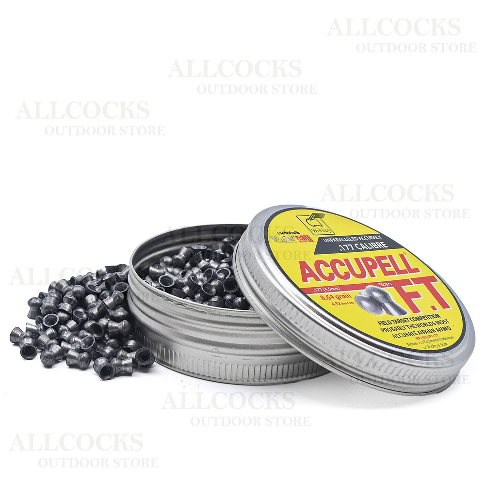 Webley Accupell FT Competition Air Gun Pellets Lead