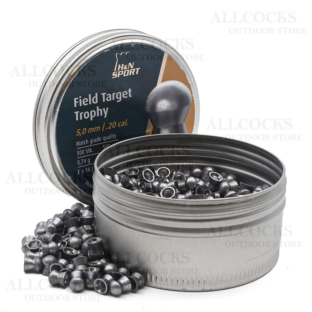 H&N Field & Target Trophy Pellets Grey