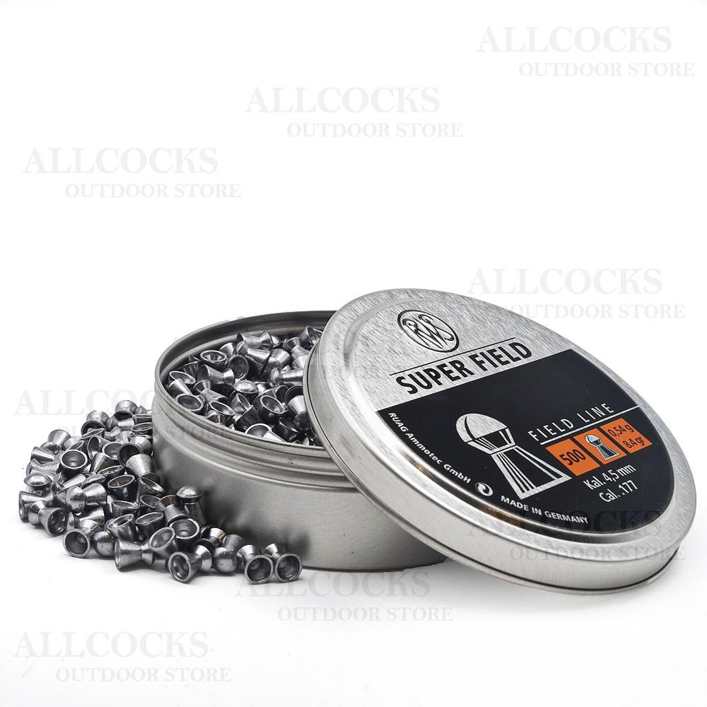 RWS Superfield Pellets - 4.51 Black & Dark Grey