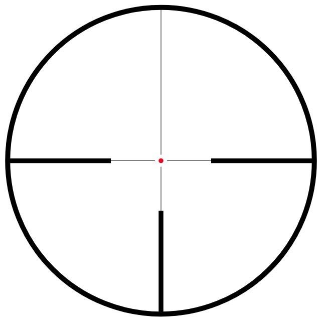 Hawke Vantage 30 WA Riflescope - L4A Dot IR Black