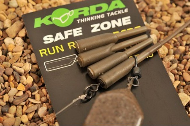 Korda SafeZone Run Rig Rubbers Gravel