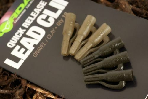 Korda Korda Quick Release Lead Clip in Gravel/Clay