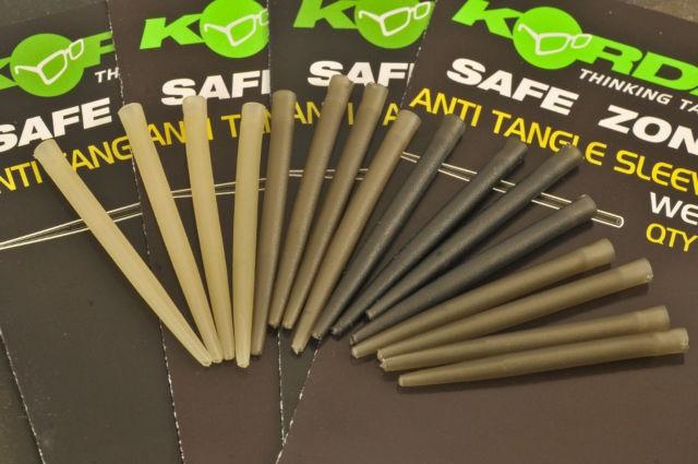 Korda Safe Zone Anti Tangle Sleeves Clay