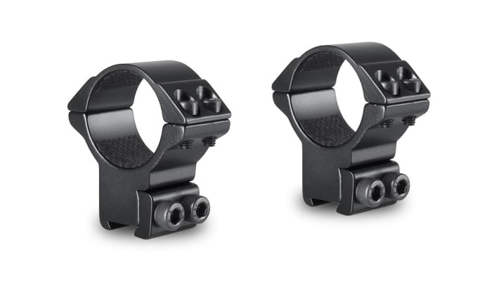 Hawke Match Two Piece Scope Mounts - 9-11mm Dovetail 30mm