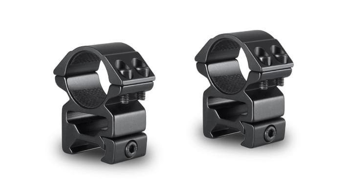 Hawke Match Two Piece Scope Mounts - Weaver 1