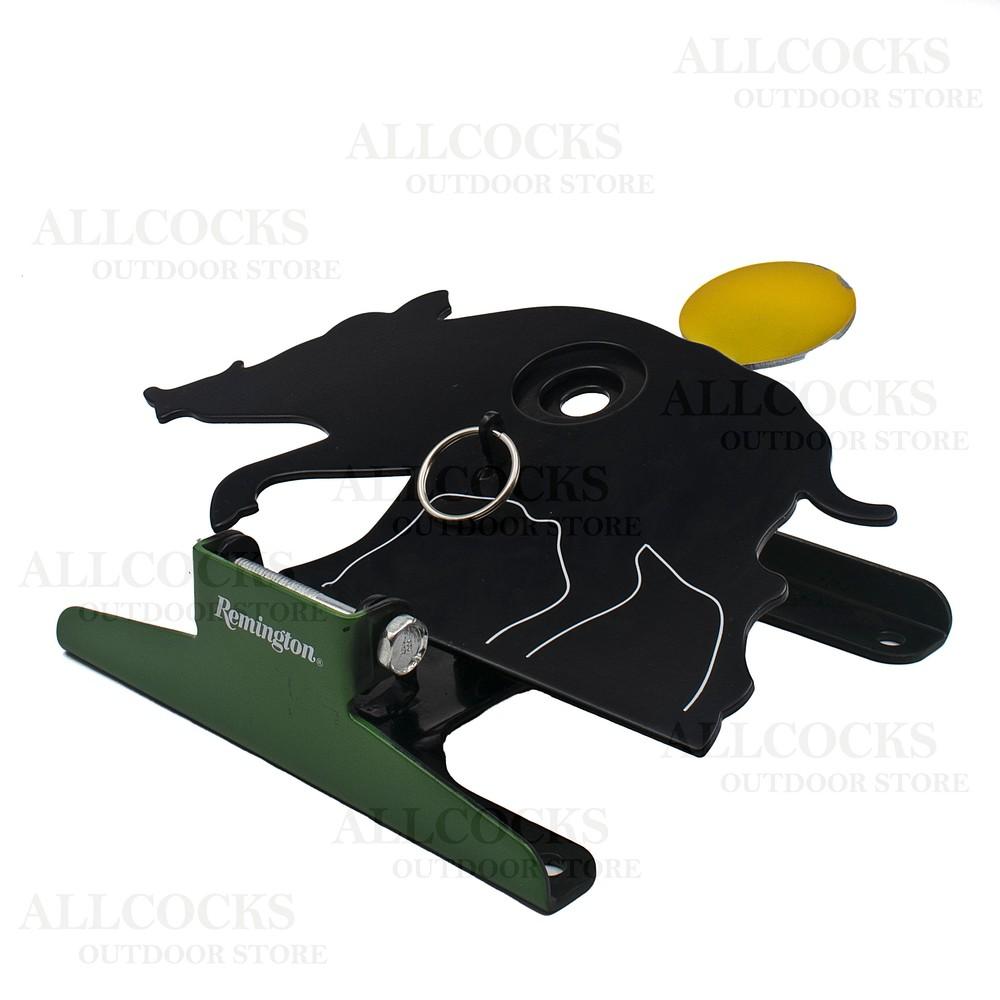 Remington Free Standing Pull/Reset Target - Hog Black