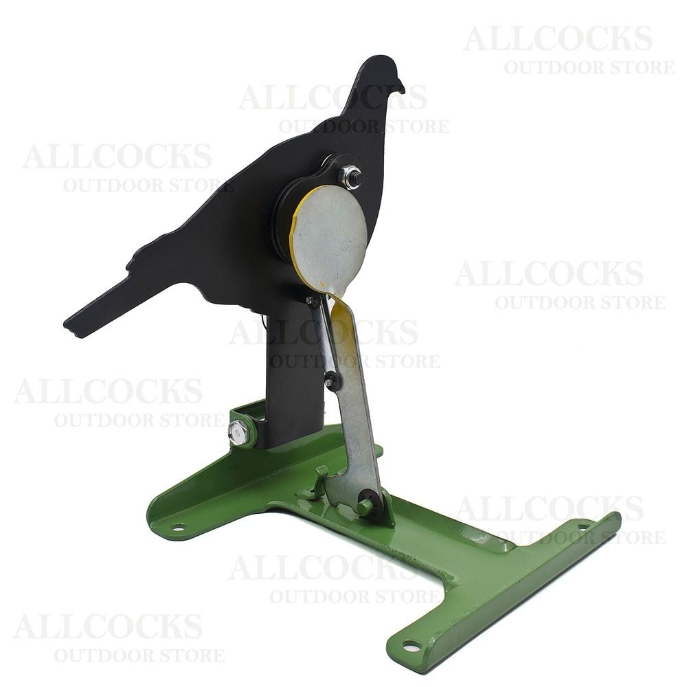 Remington Free Standing Pull/Reset Target - Pigeon Black