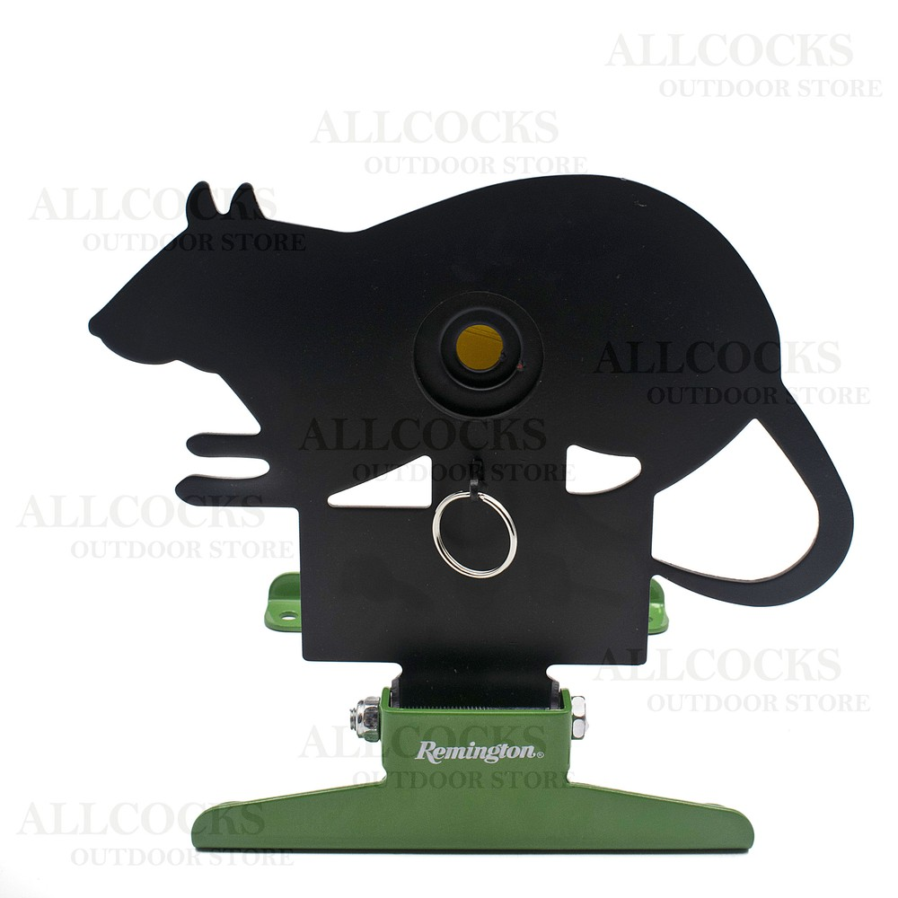 Remington Free Standing Pull/Reset Target - Rat Black