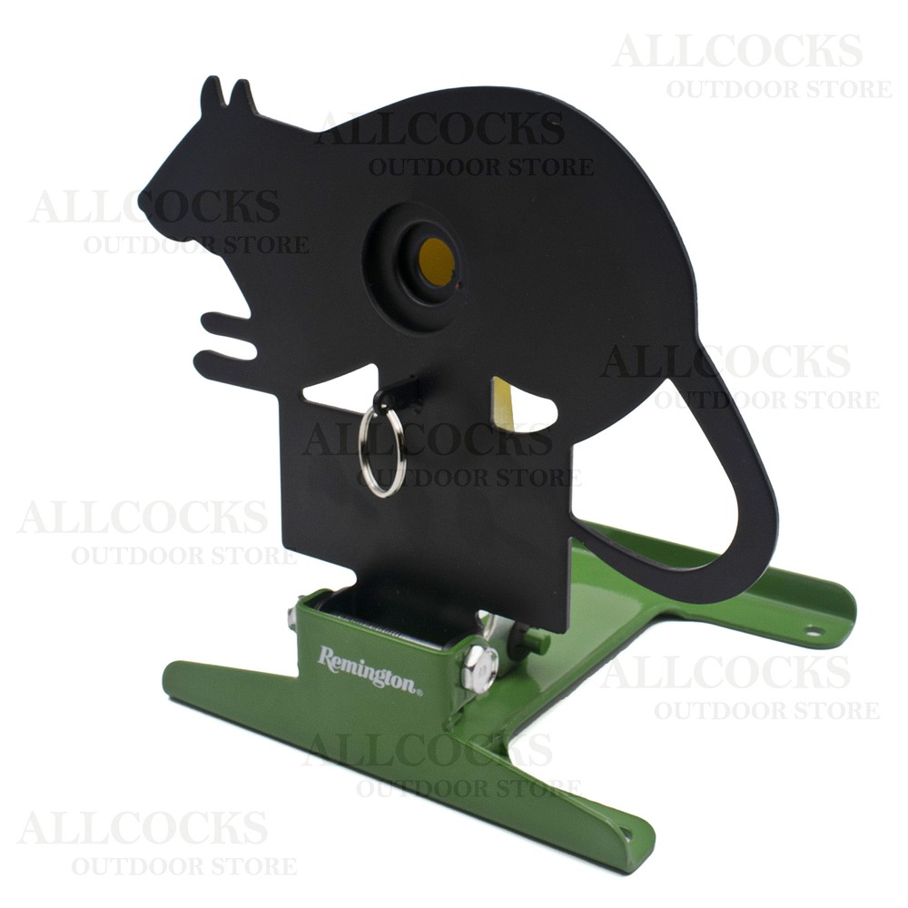 Remington Free Standing Pull/Reset Target - Rat Black