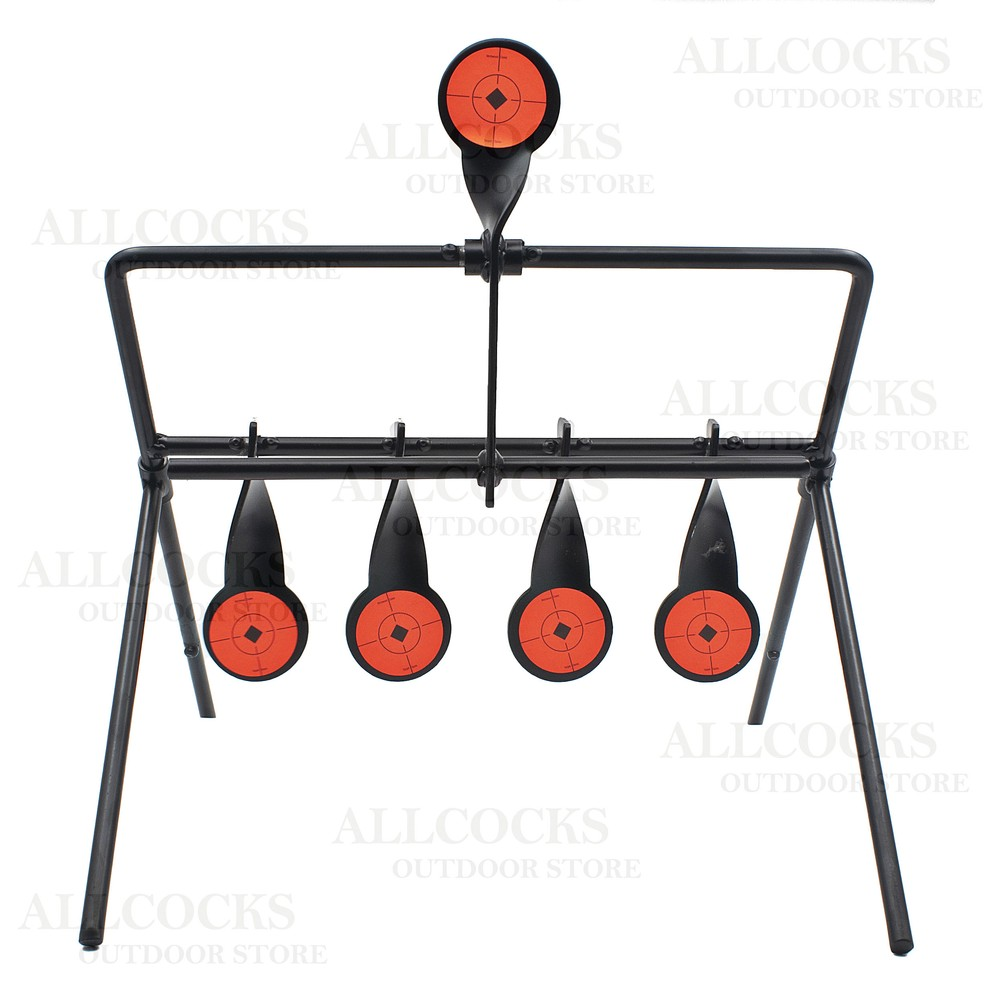 Birchwood Casey Gallery Resetting Target - .22LR Black/Red