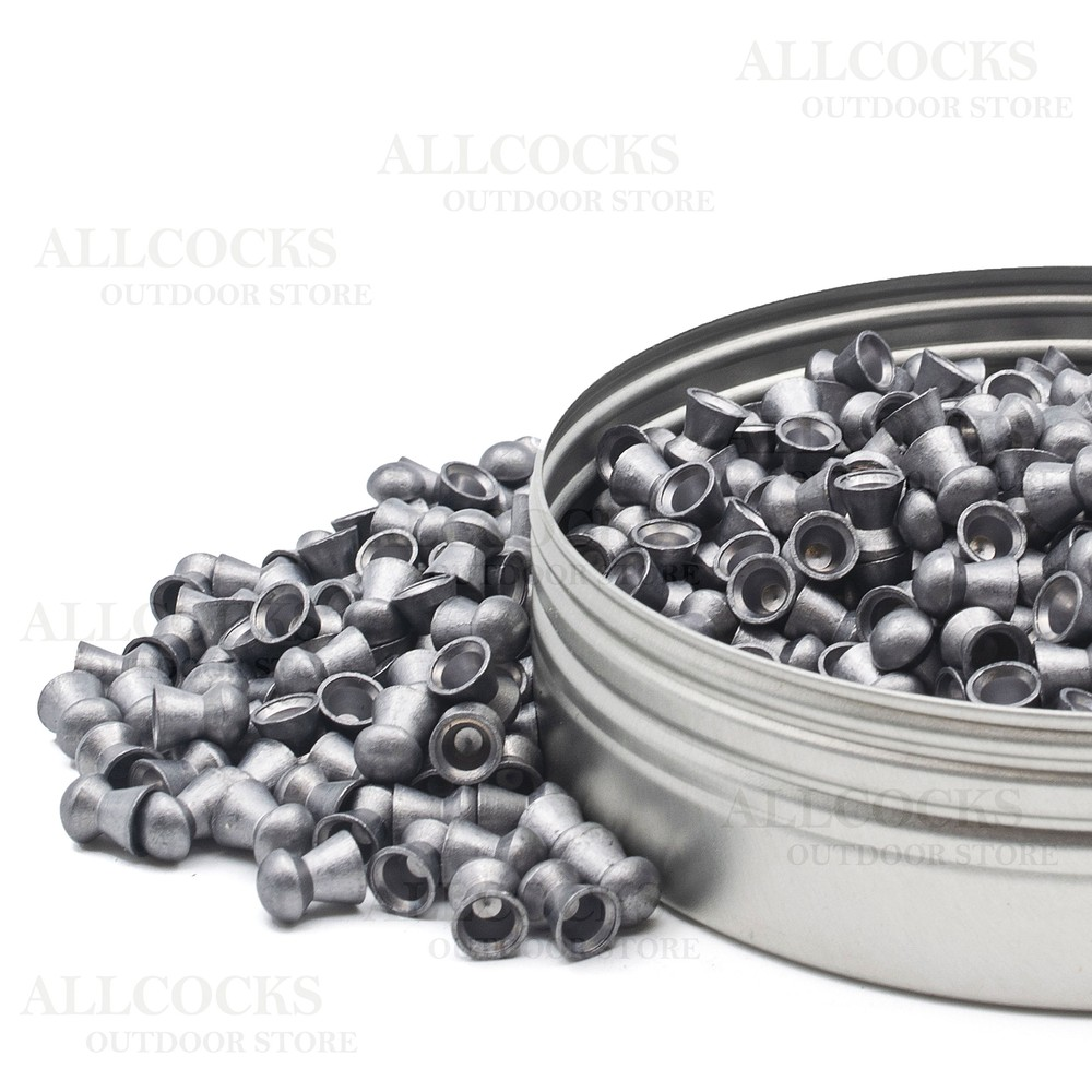 Air Arms Diabolo Field Pellets - .22 - 5.52 Black & Dark Grey