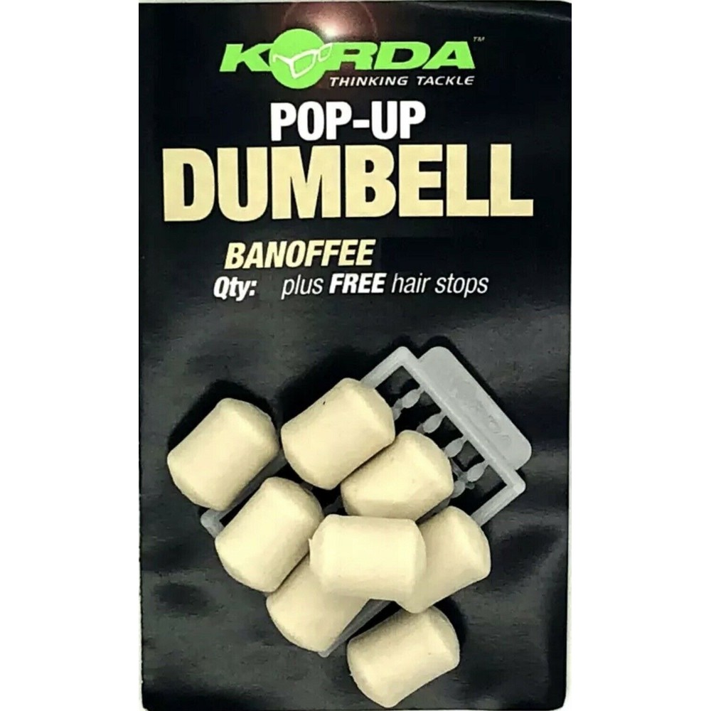 Korda Korda Pop Up Dumbells in Banoffee