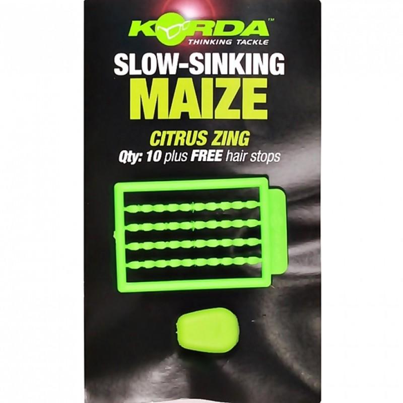 Korda Korda Slow Sinking Maize in Citrus Zing