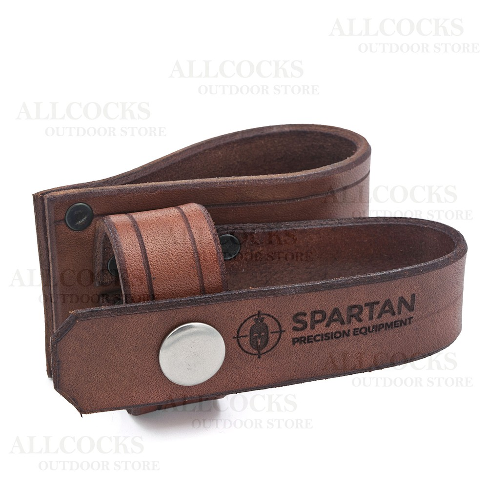 Spartan Javelin Leather Bi-Pod Holster Brown