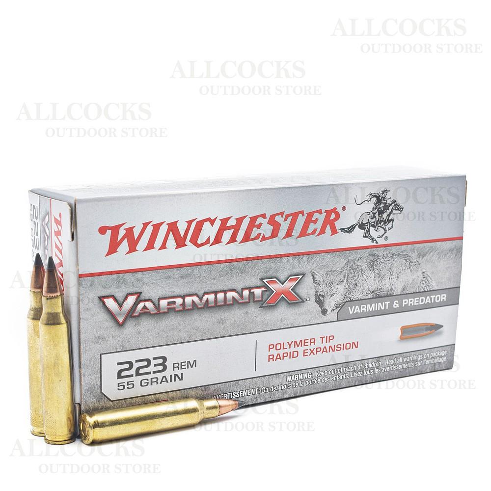 Winchester .223 Ammunition - 55gr - Varmint-X