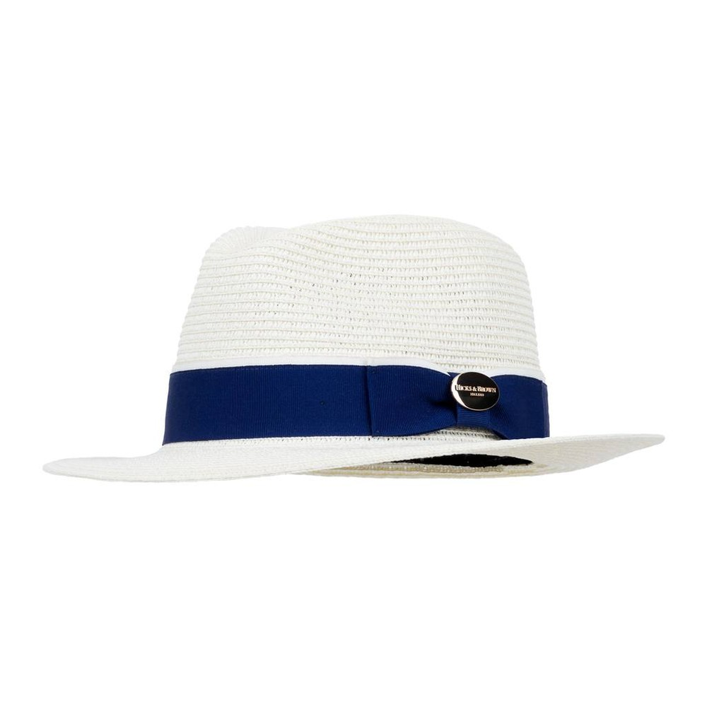 Hicks & Brown Orford Fedora - Mid-Blue Mid-Blue
