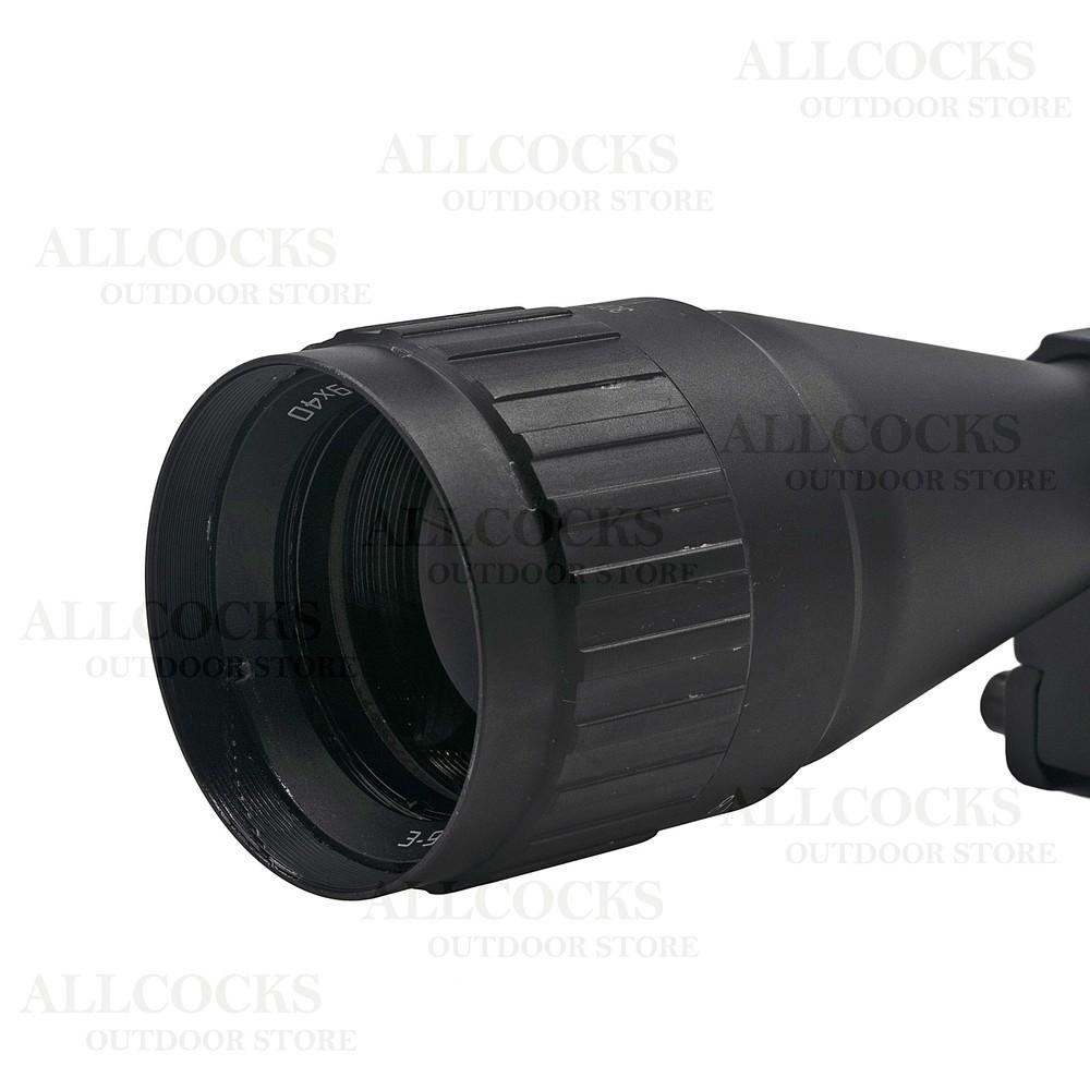Hawke Fast Mount AO Riflescope - MD Black