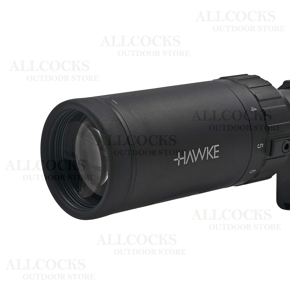 Hawke Fast Mount AO Riflescope - MD Black