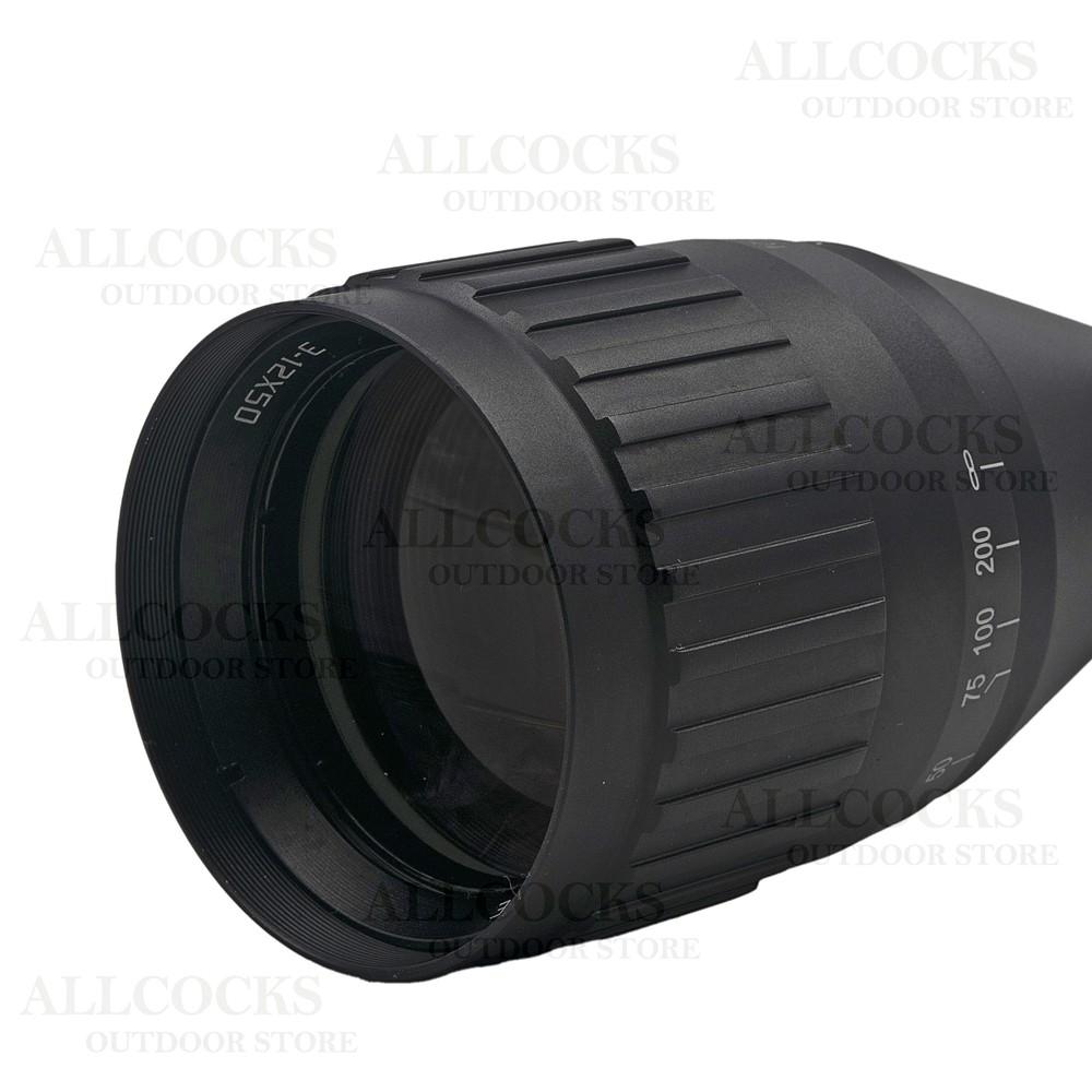 Hawke Fast Mount AO Riflescope - MD IR Black
