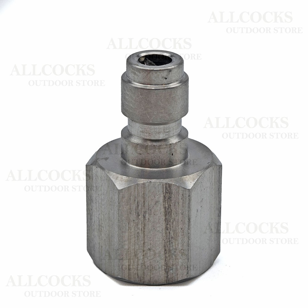 Allcocks Quick Coupler Plug Stainless
