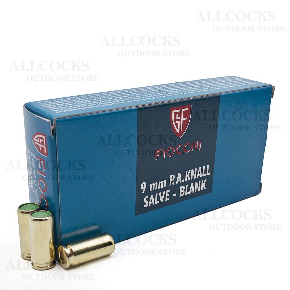 Fiochhi Fiocchi Blanks - 9mm Parabelum P.A.K Chrome