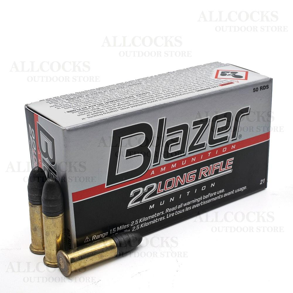 CCI .22LR Ammunition - 40gr - Blazer Solid Nose Black