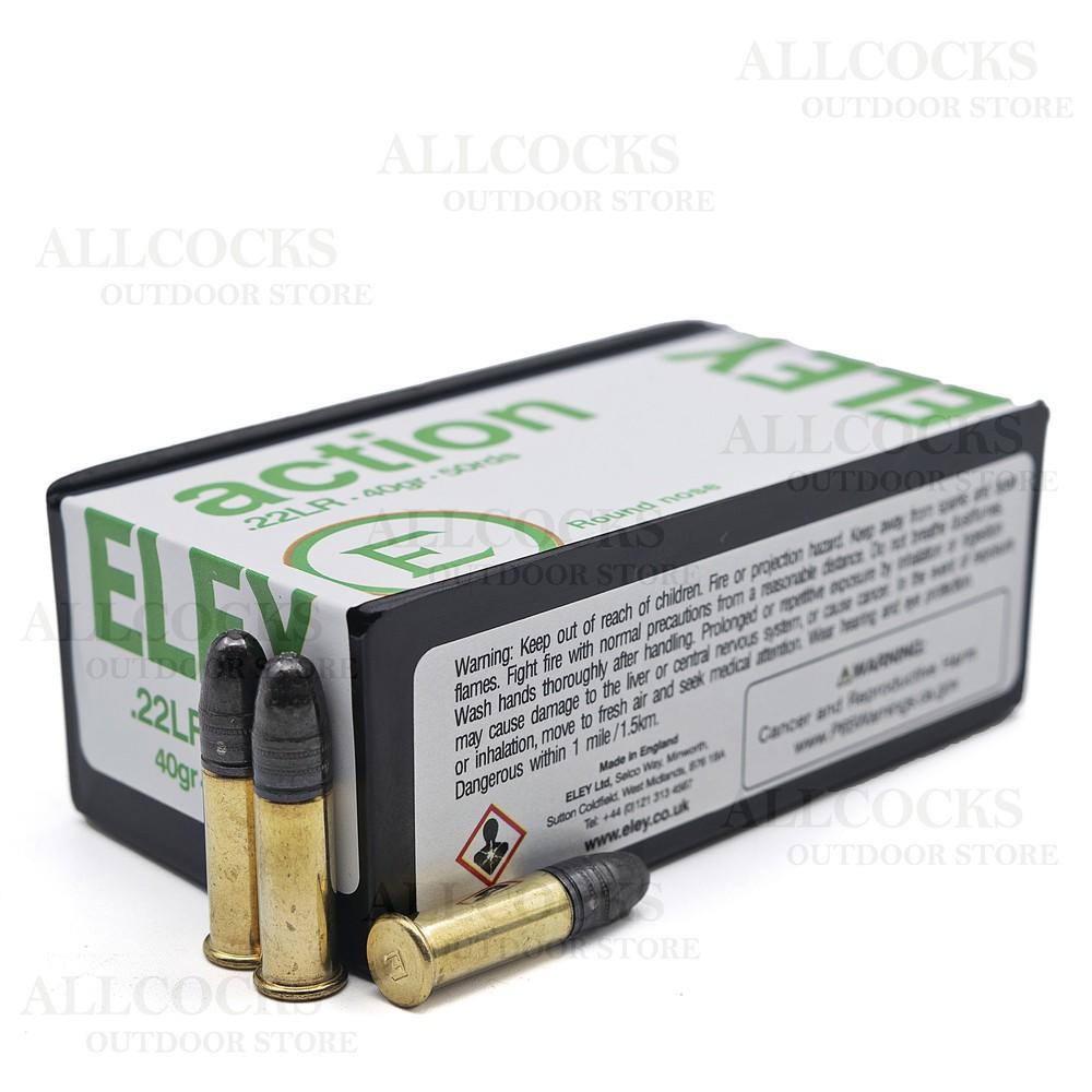 Eley .22LR Ammunition - 40gr - Action