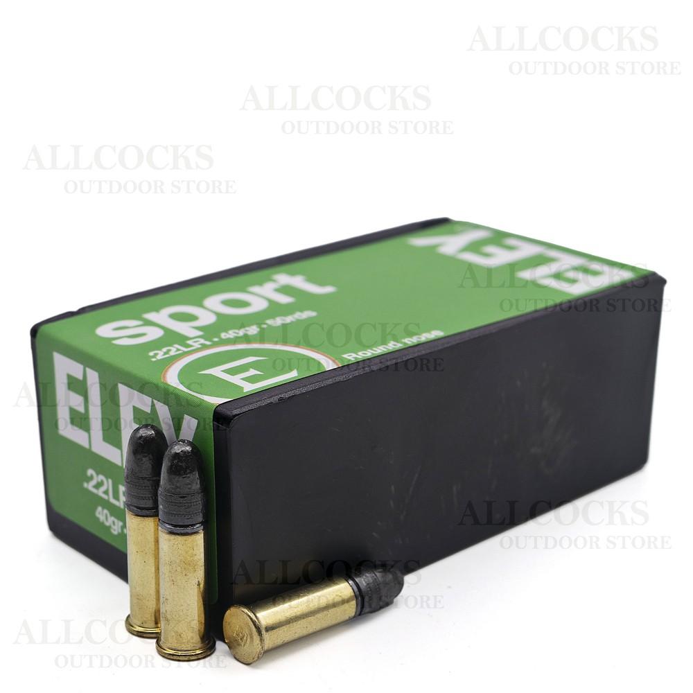 Eley .22LR Ammunition - 40gr - Sport Unknown